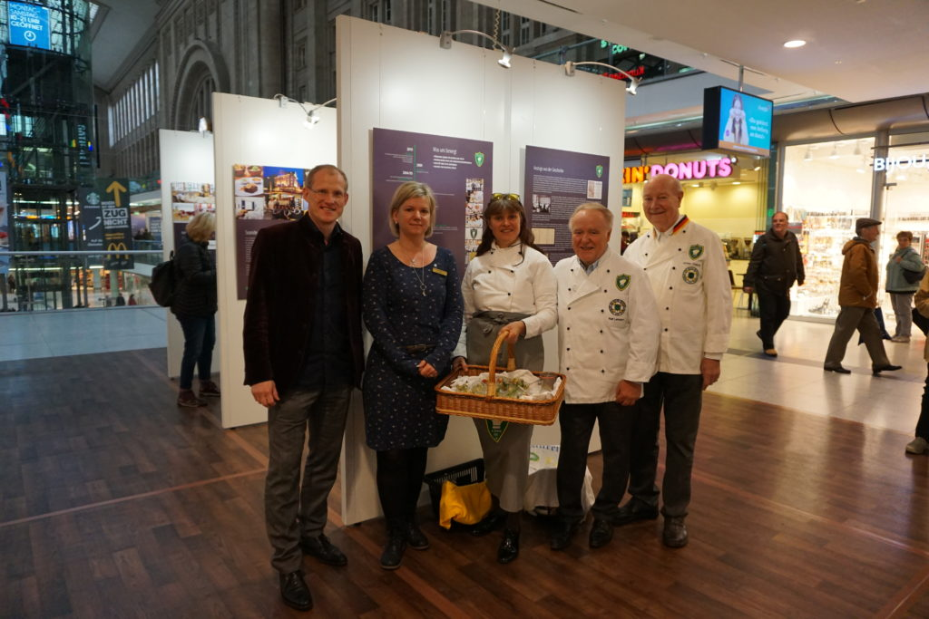 Leipziger Köche stellen aus