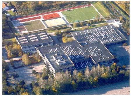 Die sogenannte Bündelschule mit drei Zweigen hat 2200 Schülerinnen und Schüler. Photo: Berufsbildende Schulen Cuxhaven