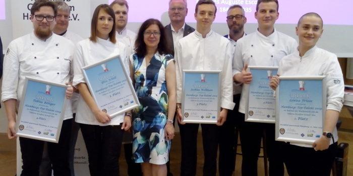 Elise Scholl gewinnt Hamburger TOP Talent