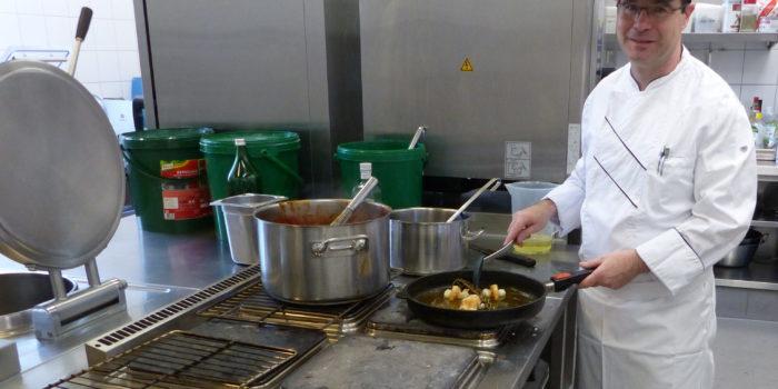 GV: Kochen im großen Stil