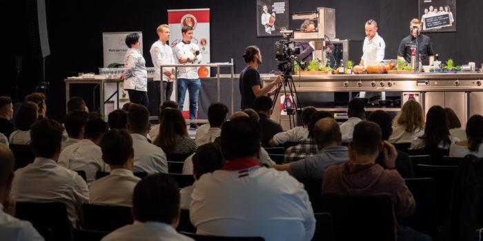 Young Chefs Unplugged – der größte europäische Wissenskongress für Jungköche