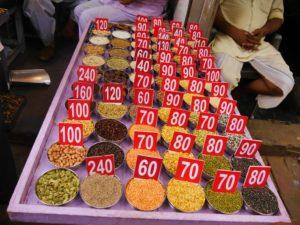 Gewürzmarkt in Indien. Foto: Bruno Ebermann