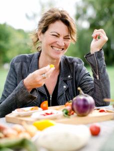 Hanni Rützler ist immer auf der Suche nach den Food Trends von Morgen. Foto: Nicole Heilig