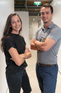 Marie und Sebastian von Gronda. Foto: Gronda GmbH