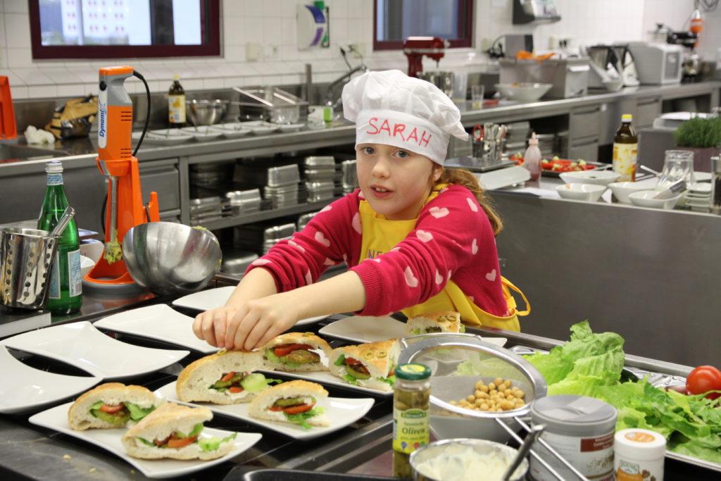 Wenn die Kleinen die Küche beherrschen