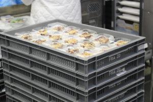 Die Menüs werden mit der 'Cook and Chill' Methode zubereitet. Foto: LSG Group