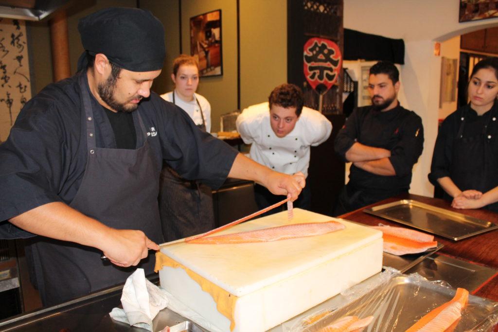 Selbstgemachtes Sushi im Münsterland