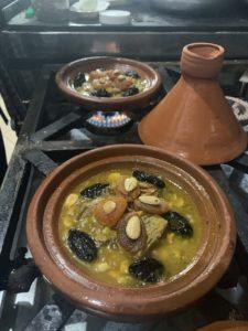 Traditionell marokkanische Tajine. Foto: Privat