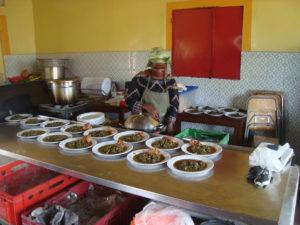 Selo, Kongo. Zentrum Juch, Zürich. Foto: Rio Napo, Ecuador. Foto: Cuisine sans frontières