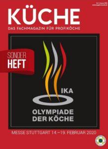 In KÜCHE 1 dreht sich alles um die IKA/Olympiade der Köche 2020.