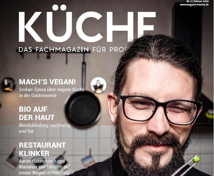 KÜCHE 2 goes vegan