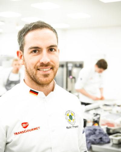 Mario Chmielorz ist Mitglied der deutschen Köche-Nationalmannschaft. Foto: Sascha Walz