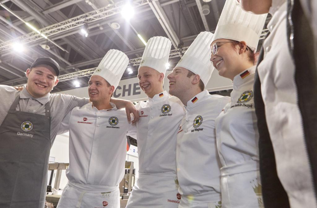 Die deutsche Jugendnationalmannschaft erreichte bei der IKA/Olympiade der Köche den 5. Platz in der Gesamtwertung. Foto: IKA/Culinary Olympics