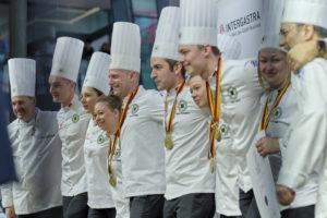 Die deutsche Nationalmannschaft erreichte bei der IKA/Olympiade der Köche den 6. Platz in der Gesamtwertung. Foto: IKA/Culinary Olympics