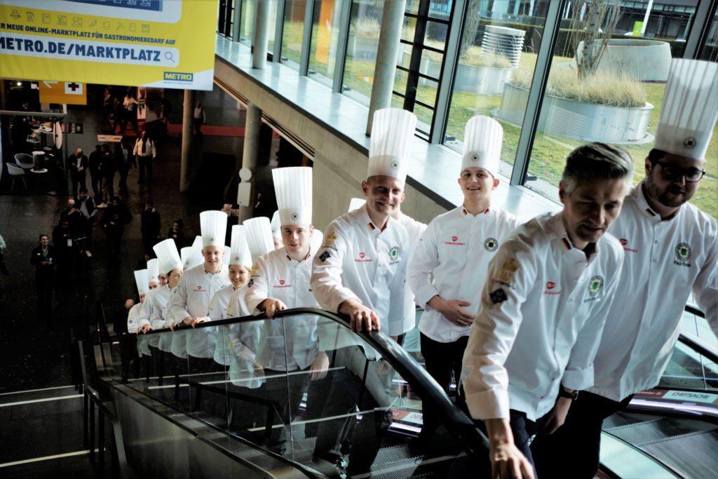 Die deutschen Köchenationalmannschaften auf der IKA/Olympiade der Köche. Foto: IKA/Culinary Olympics