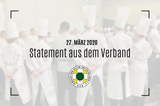 VKD gibt Köchinnen und Köchen eine Stimme