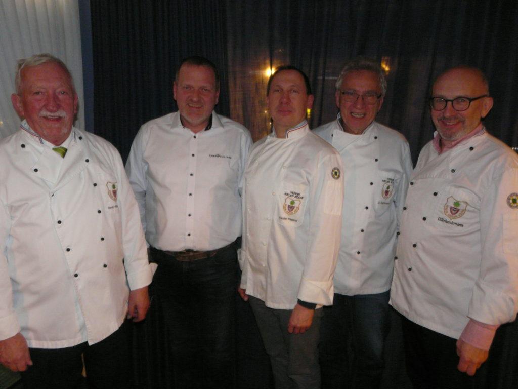 Verein Kieler Köche weiter auf Erfolgskurs