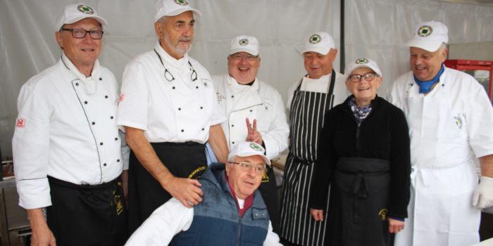 Südpfälzer Köche trotzen schlechtem Wetter
