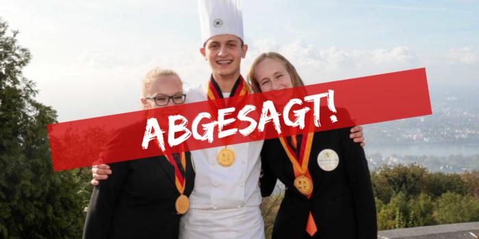 Deutsche Jugendmeisterschaften abgesagt