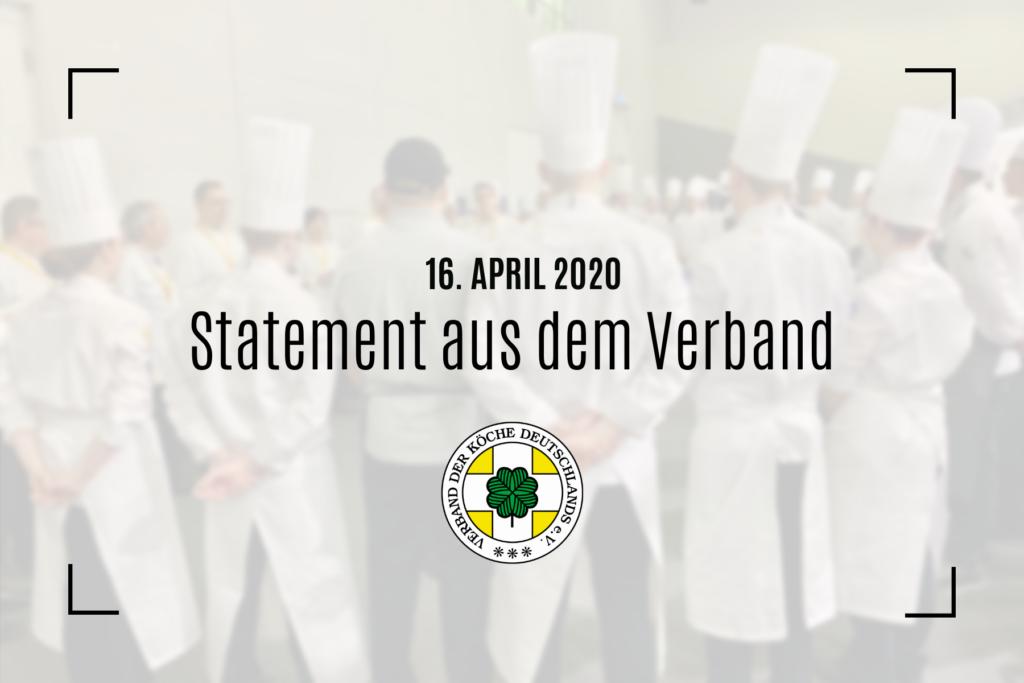 Koch/Köchin – der vergessene Beruf?!