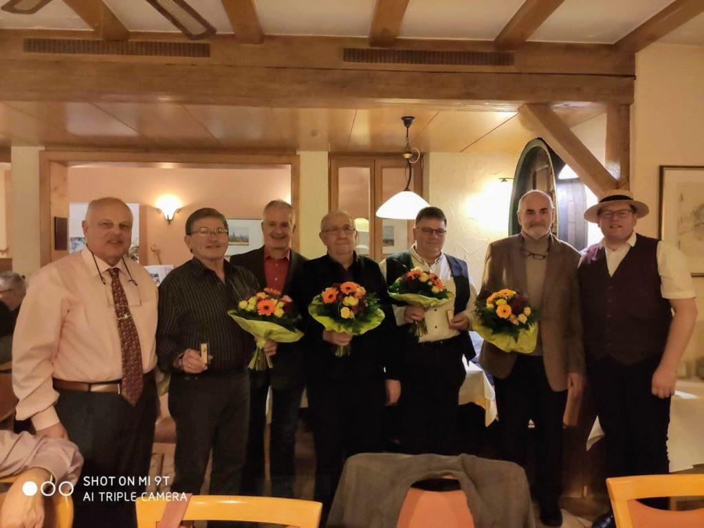 Jahresessen und Ehrungen in der Südpfalz