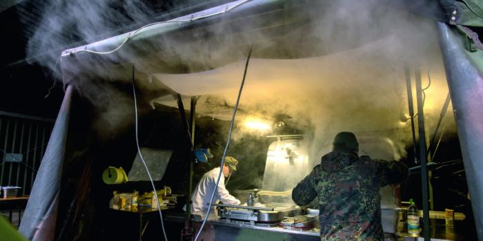 Kochausbildung bei der Bundeswehr