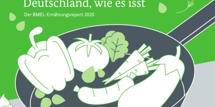 Ernährungsreport 2020: Landwirtschaft und Lieferservice