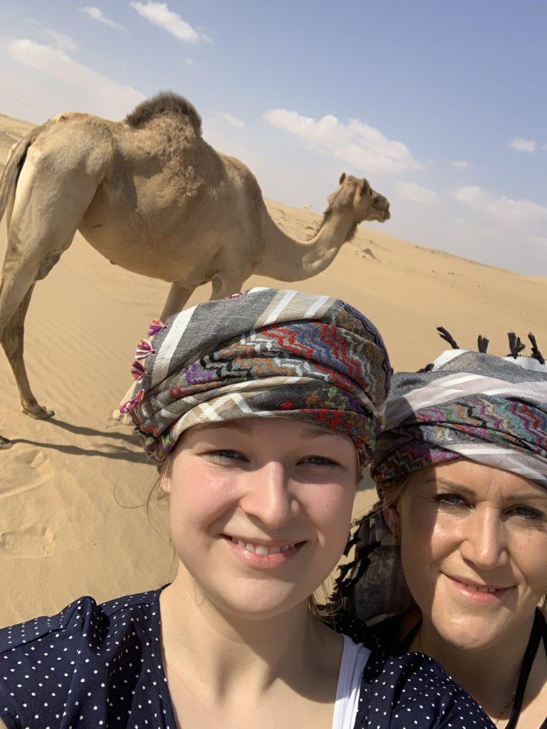 """Mit """"Vitamin B"""" in den Oman"""