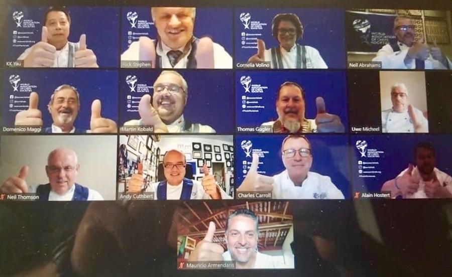 Historische Generalversammlung: Worldchefs goes online