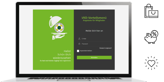 VKD-Vorteilsmenü: Angebote für Mitglieder
