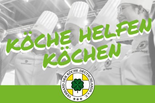 Kleine Karte Köche Helfen Köchen (1)