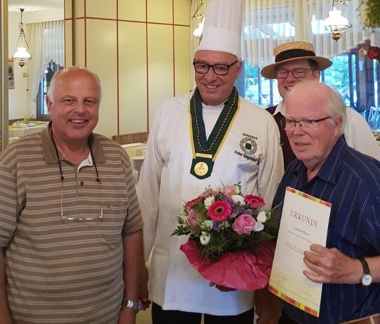Ein Jahrhundert Mitgliedschaft in der Südpfalz