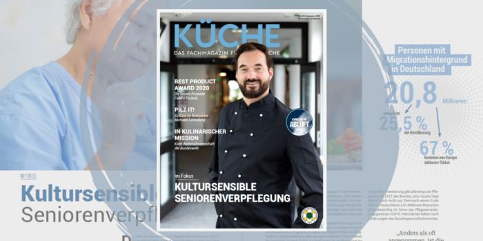Kultursensible Seniorenverpflegung in KÜCHE 8/9