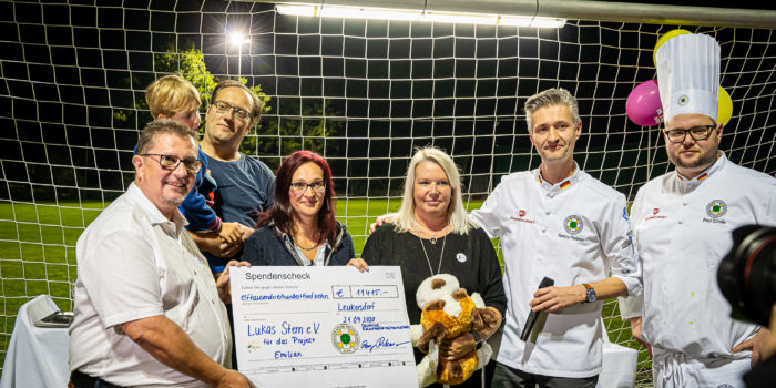 Team Germany erkocht 11.415 Euro für kranke Kinder und ihre Herzenswünsche