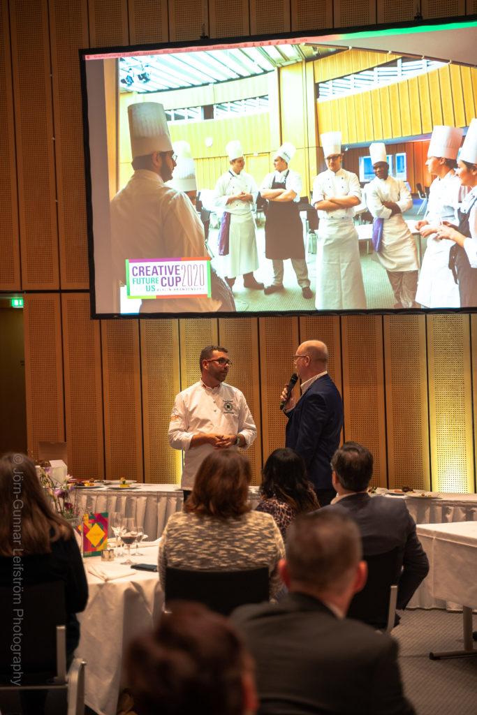Im Gespräch bleiben: bei Veranstaltungen rund um den Kochberuf. Foto: Leifström Photography