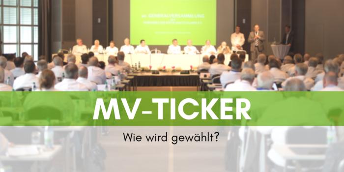 MV-Ticker: Wie wird gewählt?