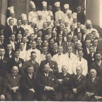 Zusammenhalt seit mehr als 100 Jahren: Vereinsfoto aus dem Jahr 1936.
