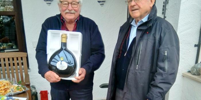 Runder Geburtstag in Rosenheim
