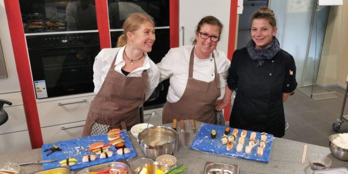 Sushi-Herstellung und Kurse für Azubis und Ausbilder