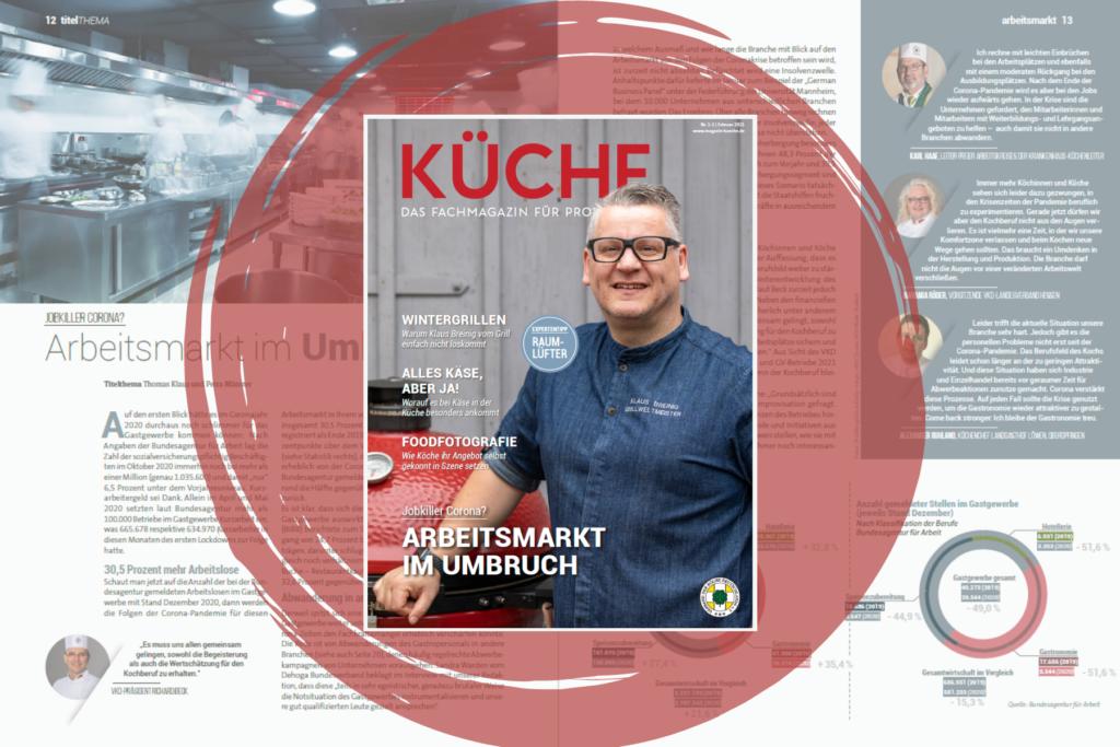 KÜCHE 1/2: Arbeitsmarkt im Umbruch