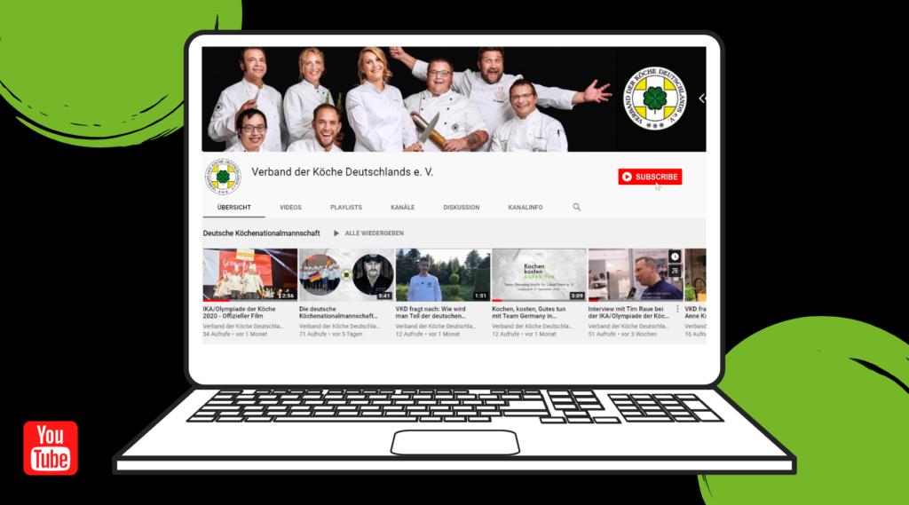 Neu: YouTube-Kanal des VKD