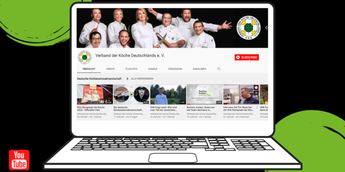 Neu: YouTube-Kanal des VKD