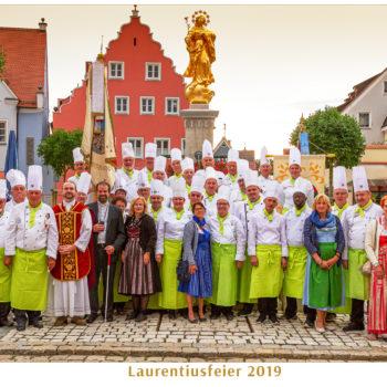 Gruppenbild beim Laurentiustag in Wemding. Foto: Club der Köche Donau-Ries