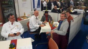 Gute Stimmung auf der HOGA: Die Fachmesse Nürnberg ist ein Pflichttermin für den Verein. Foto: Verein Nürnberger Köche