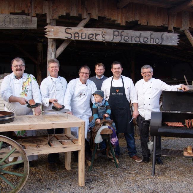 Gute Stimmung in Würzburg. Die Grillmeisterschaft ist eines der Highlights im Verein. Foto: Kochverein Frankonia Würzburg e. V.