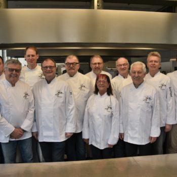 Der Vorstand arbeitet gut zusammen und entwickelt neue Ideen gemeinsam. Foto: Kochverein Frankonia Würzburg e. V.