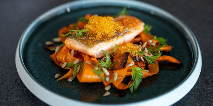 Tasty VKD: Saibling, Möhre und Kaviar
