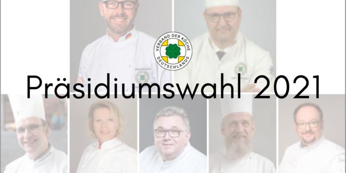 Präsidiumswahl 2021 – Das sind die Kandidat:innen