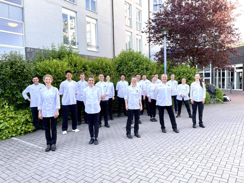 Foto: VKD Köchenationalmannschaft im Trainingsmodus 2021