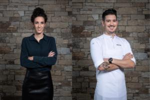 Die Lehrgangsverantwortlichen Julia Scussel (Genuss) und Mario Garcia (Küche) konzipieren und koordinieren die Inhalte und Kurse.